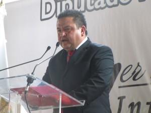 La construcción del carril confinado para el Mexibus no afectará a la población, aseguró el Diputado por el Distrito XXXI Local, Miguel Ángel Casique Pérez
